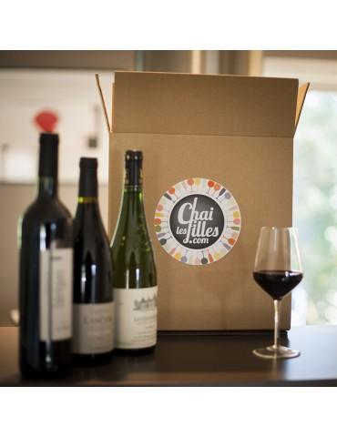 Box vin trois bouteilles