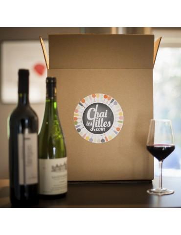 Box vin deux bouteilles